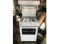 Gas oven with built in grill
