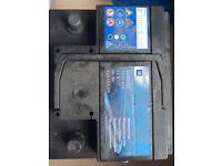 2 dead GM car batteries 50Ah 55Ah battery
