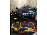 Subaru rc nitro car scale 1 - 10, so much fun .. only £80 for quick sale