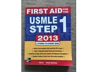 USMLE Step 1 2013 book, very good condition
