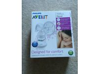 Philips Avent Manual Breast Pump, never opened still sealed RRP £46