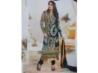 Designer Party wear Un stitched Salwar Kameez