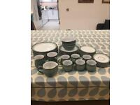 Denby Regency Green Dinner and Tea Set