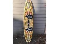 Brunotti kite board and 13ft kite