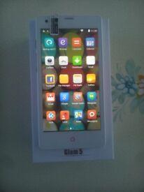 Brand New, Unlocked, 5'', Dual Sim, 4.4.2, Quadcore 8GB (Upgradable to 40GB) Multimedia Smartphone