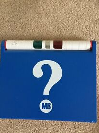 MB Guess who electronic game Mystery Face Board Game