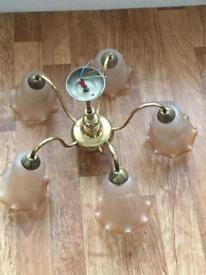 5 light chandelier