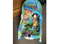 Baby / toddler rocker / infant seat