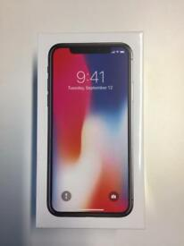iPhone X 256gb Space Grey - brand new unopened