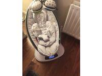 Mamaroo with newborn insert and box
