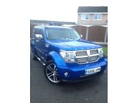 Blue Dodge Nitro 2.7 Diesel SXT Automatic