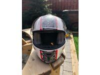 Shark motorbike helmet (large)