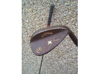 Callaway rust wedges 54+58 degrees