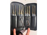 GOSO 24 piece lock picking set