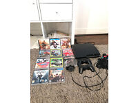 Slim ps3 with contollers and 11 games