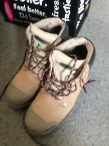 Ladies Green Seal Safety Shoes - Worn Once