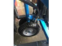 All terrain pump truck 1.5tonne