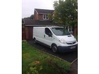Vauxhall vivaro clean van very low miles for year