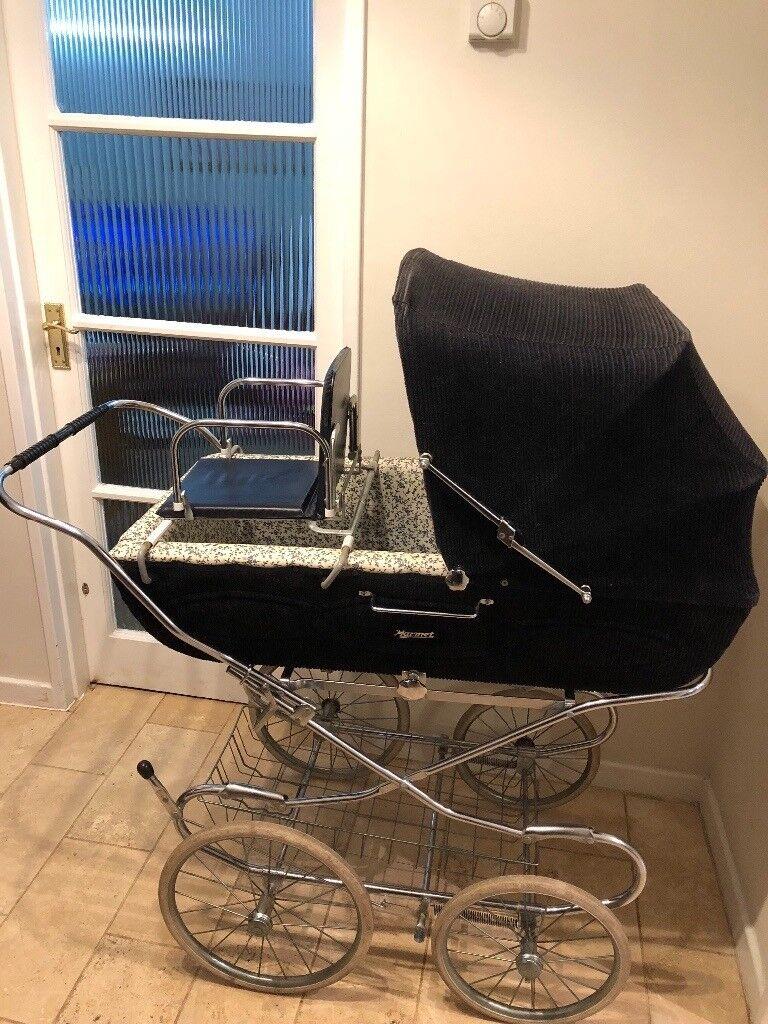 COACH BUILT PRAM CHILD TODDLER SEAT for Silver Cross Prams