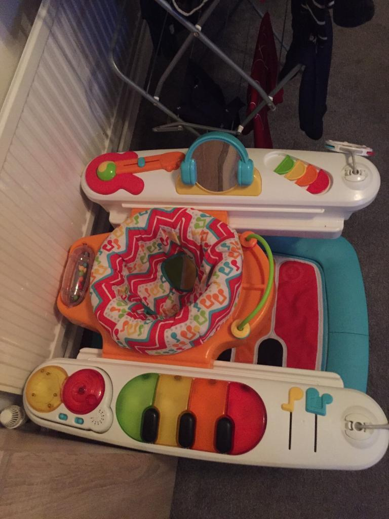 Fisher price activity 4 in 1 step piano play