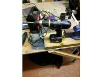 Pro 18v drill skill saw and others