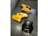 Triumph tt600 fairings
