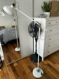 Like New IKEA white floor lamp £45 (2months old)