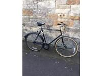 Vintage retro Raleigh Chiltern gents bicycle.