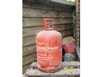 Calor Gas bottle 13 kg for propane (empty) screw fitting £10
