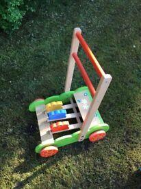 Baby Crane wooden walker
