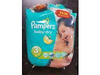 18 size 3 nappies