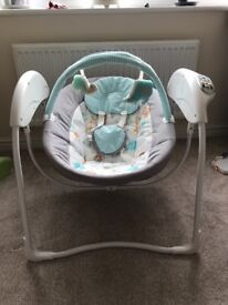 Graco Glider Swing - great condition- suitable from birth