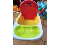 Mothercare booster seat, used twice
