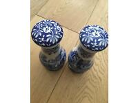 SPODE BRAND NEW salt and pepper mills
