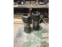 Vintage chimney pots
