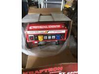 Generator kraftech professional power tools bargain