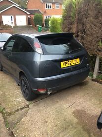 Ford Focus 1.6 breaking for spares