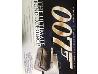 007 James Bond ultimate edition DVD box set with briefcase