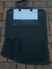 Audi A3 cabriolet (2008-2013) rubber car mats boot liner wind deflector