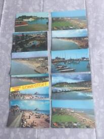 For Sale Old Unused Postcards Of Lowestoft from The 1950's