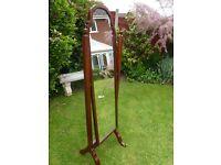 Antique Regency (full length) cheval mirror