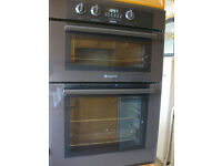 Hotpoint Built in Electric Double Oven BD32