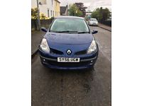 56 Plate Renault Clio Dynamic for sale, for spares or repairs (Runs)