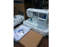 Brother Embroidery machine,fs130qc,computerized 130 stitch,sewing machine,Brand New