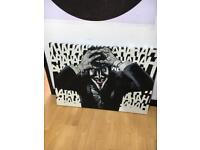 Batman Joker Killing Joke Large Painted Canvas Art Picture Painting DC Alan Moore