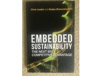 Embedded Sustainability Book by Laszio and Zhexembayyeva