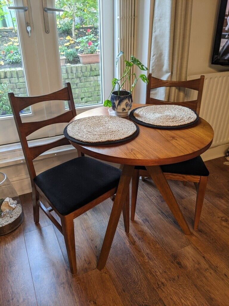 Image of: Mid Century Modern West Elm Wood Dining Table In Kentish Town London Gumtree