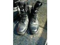 Millitary boots