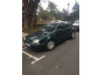 VW BORA 1.6 PETROL.. VERY GOOD CONDITION THROUGHOUT. NEEDS NEW MOT AND WILL NEED A CLUTCH SOON