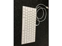 Apple Magic keyboard, in brand new condition, with USB lead